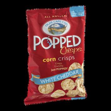 Olde Cape Cod Popped Crisps Corn Crisps White Cheddar
