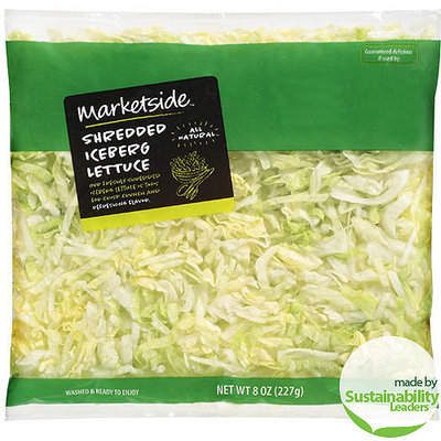 Marketside Shredded Iceberg Lettuce, 8 oz
