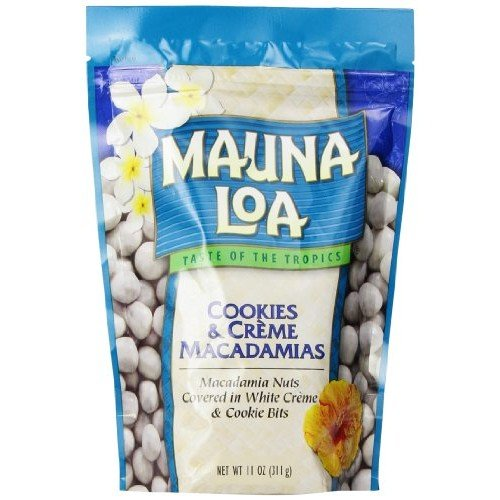Mauna Loa Macadamias Nuts, Cookies and Creme, 11 Ounce
