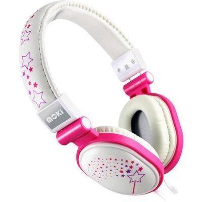 Addnice Moki Acchppod Popper Over-the-Ear Headphones - White (4MOK00563)
