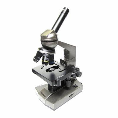 Carson Optical Intermediate Level Table-Top Biological Microscope, 1 ea