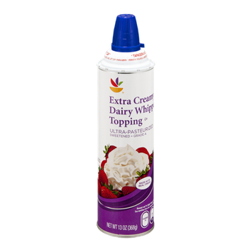 Ahold Dairy Whipped Topping Extra Creamy