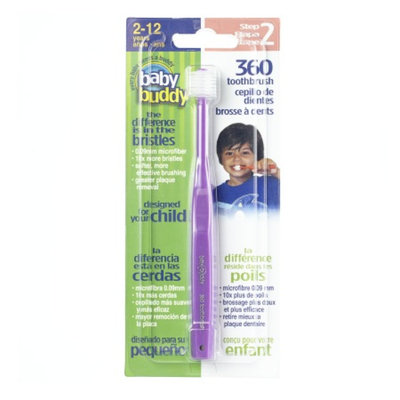 Baby Buddy 360 Toothbrush Step 2, Purple, 1 ea