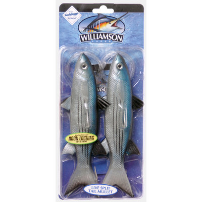 Williamson Lures Live Split Tail Mullet Trolling Lure