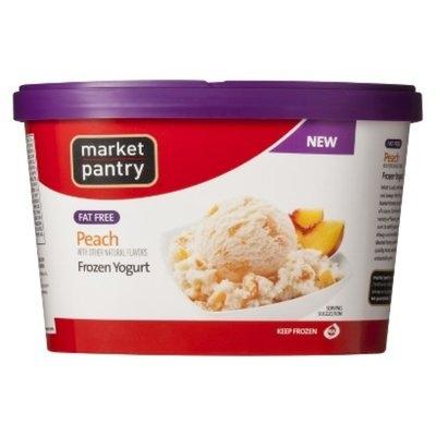market pantry Market Pantry Fat Free Peach Frozen Yogurt 1.5-qt.