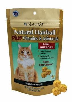 Turvet / Garmon Corp NaturVet Hairball Plus Vitamin Cat Soft Chew