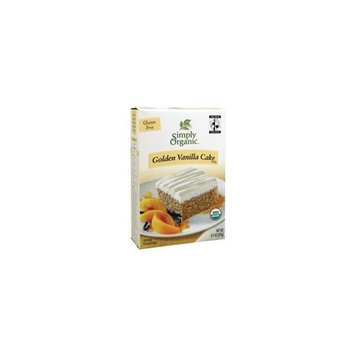 Simply Organic Golden Vanilla Cake Mix (3x9.7 Oz)