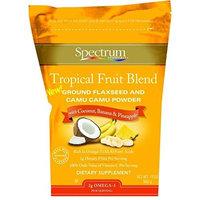 Spectrum Essentials Ground Flaxseed and Camu Camu Powder - Tropical Fruit Blend - 12 oz