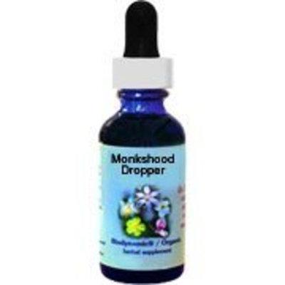 Flower Essence Range of Light Monkshood Supplement Dropper -- 1 fl oz