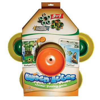 Driveway Games Wash Tubes Washer Tossing Game