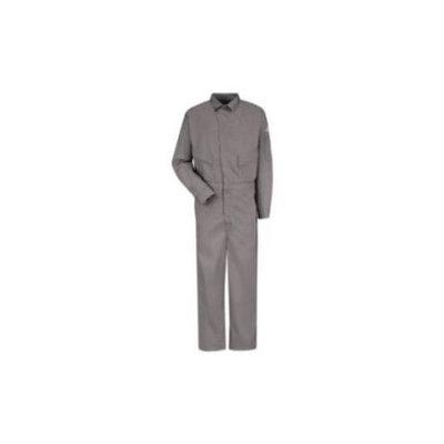 Bulwark 56 Men's Grey Long Sleeve Coveralls CLD4GY LN 56-1