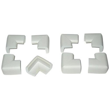 Kid Kusion Toddler Kusions for Corners - Pack of 8 (White)