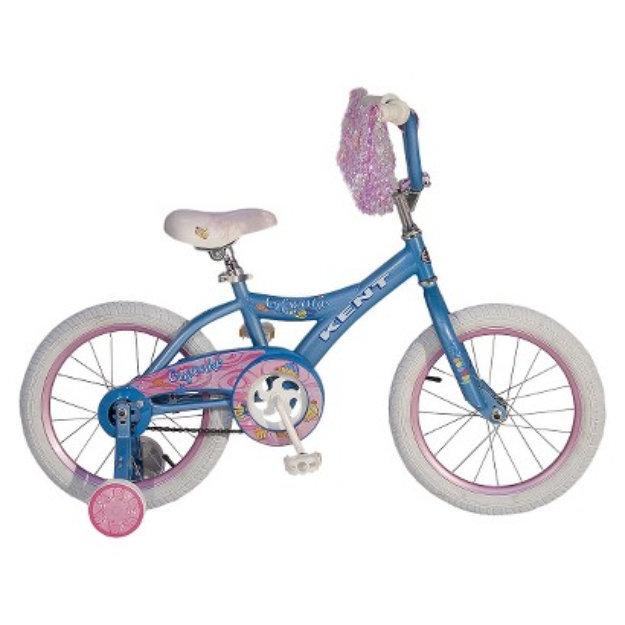 """Kent International Kent Girls Cupcake Bike Blue (16"""")"""