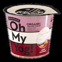 Stonyfield Organic Oh My Yog! Trilayer Yogurt Apple Cinnamon