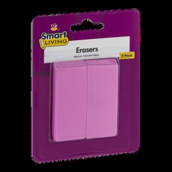 Smart Living Erasers - 2 CT