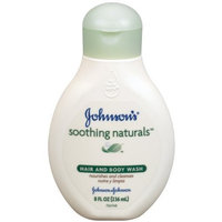 Johnson & Johnson Johnson's Soothing Naturals Hair and Body Wash, 8-Ounce (Pack of 2)