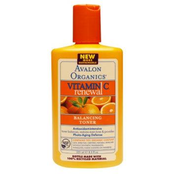 Avalon Organics Vitamin C Renewal Balancing Toner