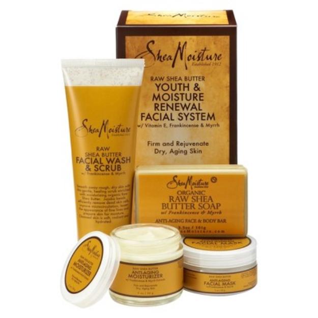 SheaMoisture Raw Shea Butter Youth & Moisture Renewal Facial System