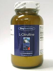 Allergy Research Group, L-Citrulline Powder 3.5 oz