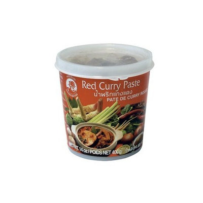 Cock Brand - Thai Red Curry Paste - 14 Oz