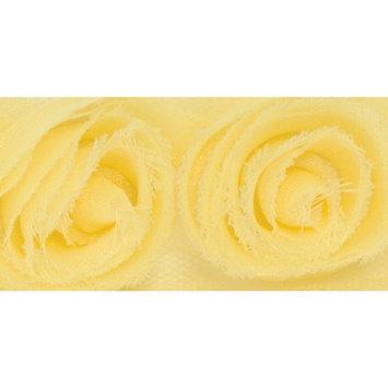 Recaro North Kaiser Craft R712 Small Ribbon Roses - Lemon