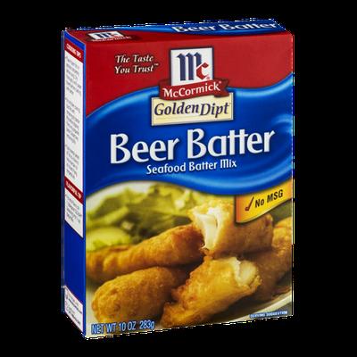 McCormick® Golden Dipt Seafood Batter Mix Beer Batter