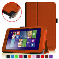 Fintie Folio Leather Case Cover for ASUS VivoTab Note 8 M80TA Tablet (Windows 8.1), Brown