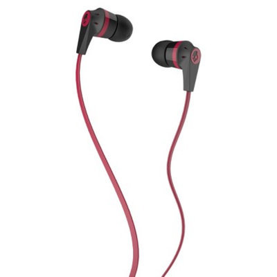 Skullcandy Ink'd Earbuds - Red/Black (S2IKDZ-010)