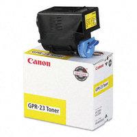 Canon 0455b003aa Gpr23 Yellow Toner Cartridge (gpr23y)