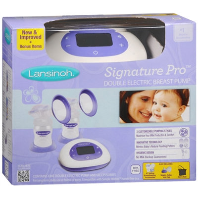 Lansinoh Signature Pro Double Electric Pump, 1 ea