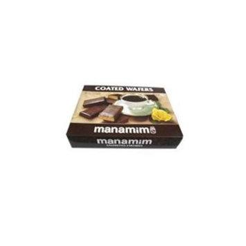 Manamim - Chocolate Coated Wafe Roasted (Kosher) 14.1Oz (Pack of 12)