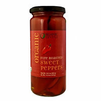 Divina Organic Fire Roasted Sweet Peppers 16.4 oz