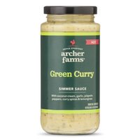 Archer Farms Green Curry Simmer Sauce 11.8floz