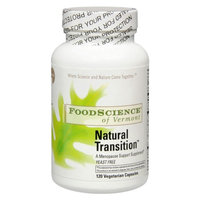FoodScience of Vermont Natural Transition Menopause Support Capsules