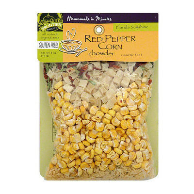 Frontier Soups Homemade In Minutes Red Pepper Corn Chowder Soup Mix