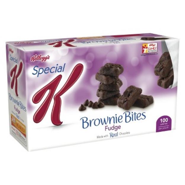 Special K® Kellogg Fudge Brownie Bites 100 Calorie