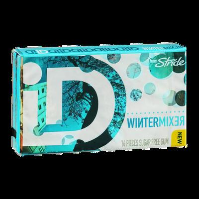 Stride iD Sugar Free Gum Wintermixer - 14 CT