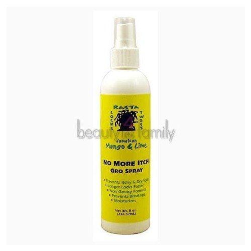Jamaican Mango & Lime Jamaican Mango No More Itch Gro Spray, 16 Ounce