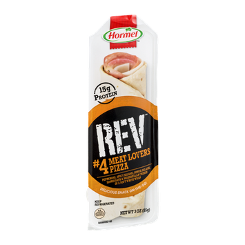 Hormel REV #4 Meat Lovers Pizza Wrap Snack On-The-Go