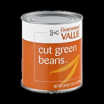 Guaranteed Value Cut Green Beans