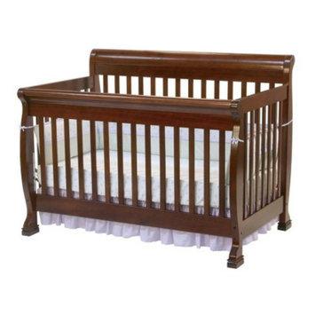 DaVinci Kalani 4-in-1 Convertible Crib with Toddler Rail - Cherry