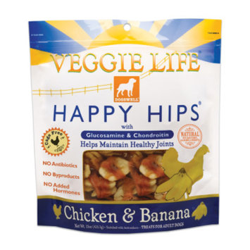 Dogswell Veggie Life Happy Hips Dog Chews
