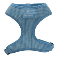 Hip Doggie Ultra Comfort Blue Mesh Harness Vest, XXL