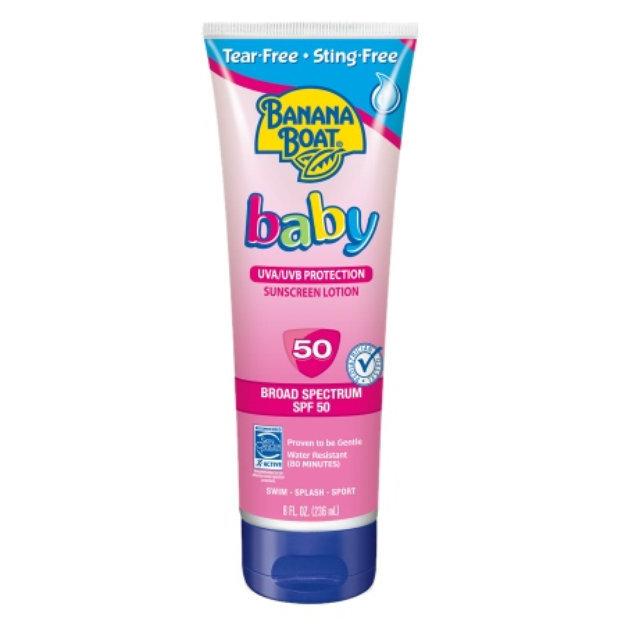 Tear Free Natural Sunscreen