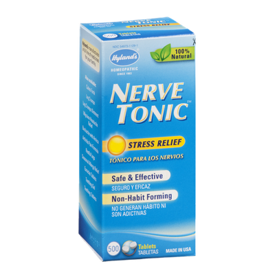 Hyland's Nerve Tonic Stress Relief - 500 CT