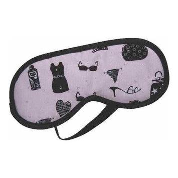 Kingsley Slumber Masque- Pink With Black