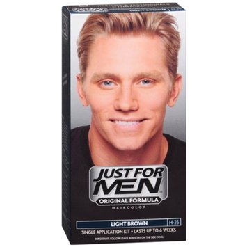 Just For Men Shampoo In Hair Color