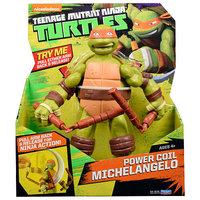 Playmates Teenage Mutant Ninja Turtles 11 Inch Power Coil Michaelangelo Figure
