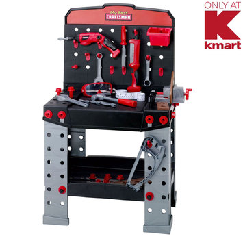 Red Box Toy Factory Limited My First Craftsman Workbench with 2 Power Tools