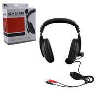 Amtronics Pro III Headset - Stereo - Black - Wired - Over-the-head - Binaural - Circumaural